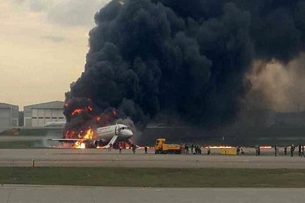 russia plane crashes accident of pilot accident