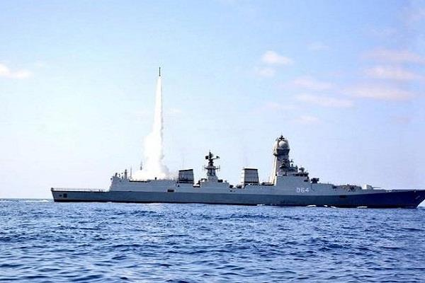 indian navy successfully tested mrsam missile