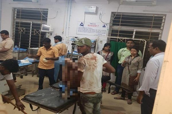 attack on congress candidate manoj jena from aska assembly seat