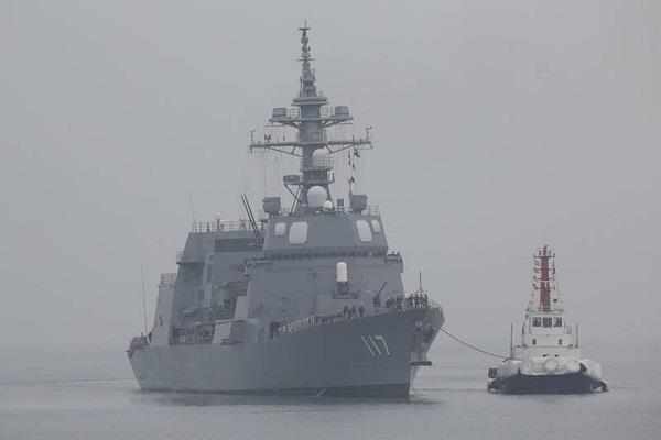 indian ships the navy has made two warships deployed in oman bay