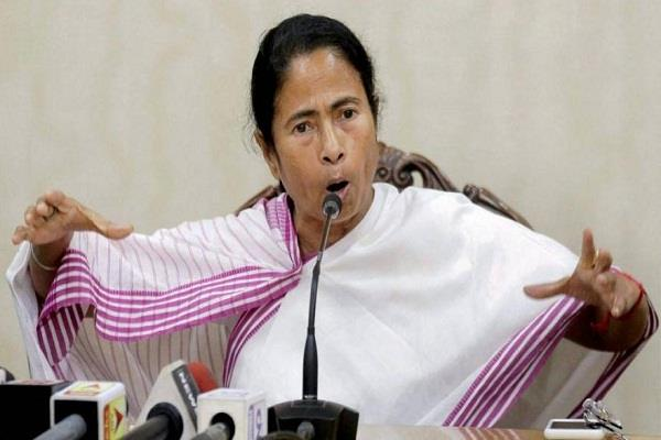 mamta banerjee ban on bjp s victory procession in bengal