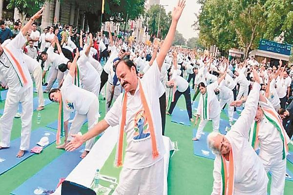 get  yoga  for health happiness and harmony