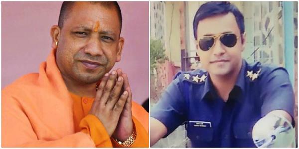 yogi paid tribute to major ketan sharma martyr in the encounter