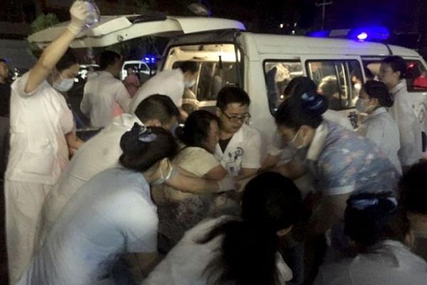 china earthquake yin city