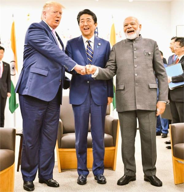 trump after meeting with modi says we are good friends