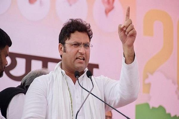 ashok tanwar commented bjp and congress