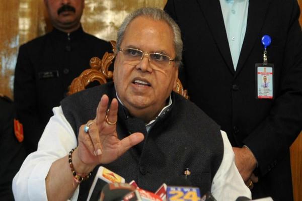 jammu and kashmir governor satyapal malik reply to terrorism