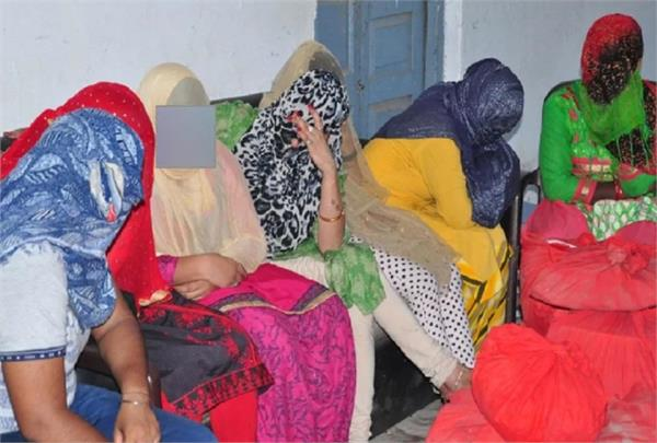 sex racket busted in saharanpur