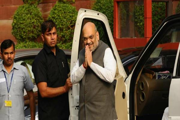 home minister amit shah will visit kashmir on june 26