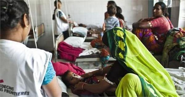 the number of children who died due to chamakee fever in bihar was 113