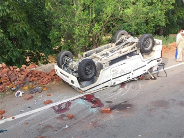 bolaro flip hit by truck collision 3 killed 4 wounded