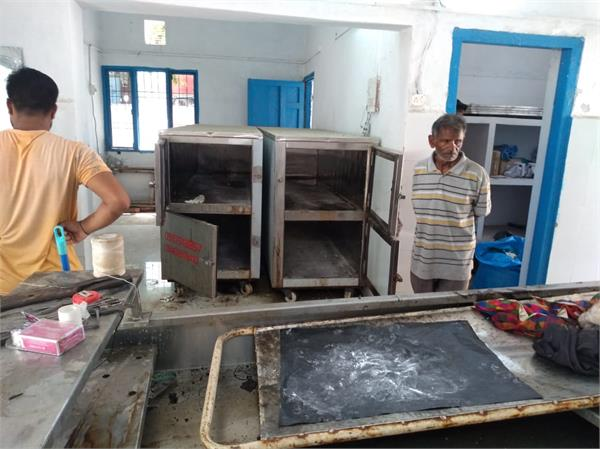 kalka mortuary hospital s frozen defective 3 dead bodies without ice