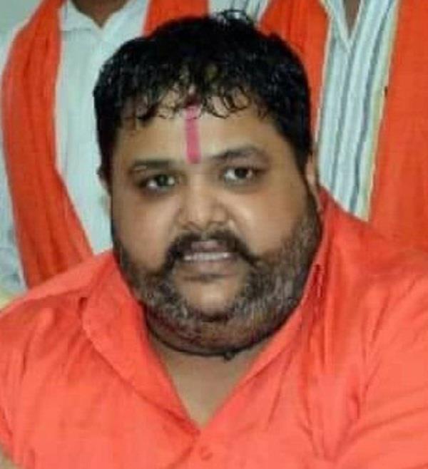 nishant sharma president of shiv sena hind