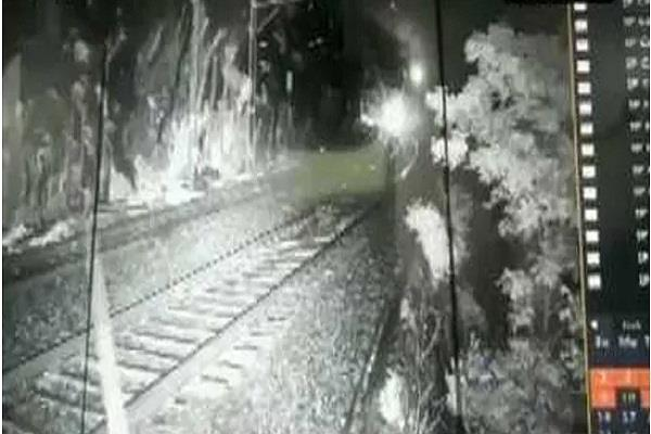 big rail accident due to cctv cameras