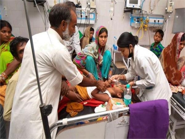 bihar 132 children have died so far from fever