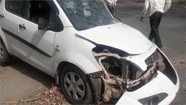 bjp president balram kaushik s cars accidents