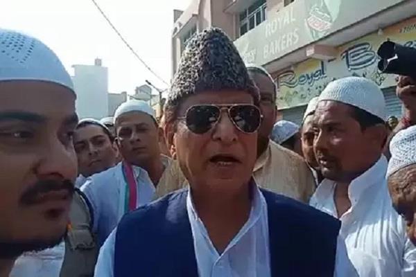 statement of azam khan