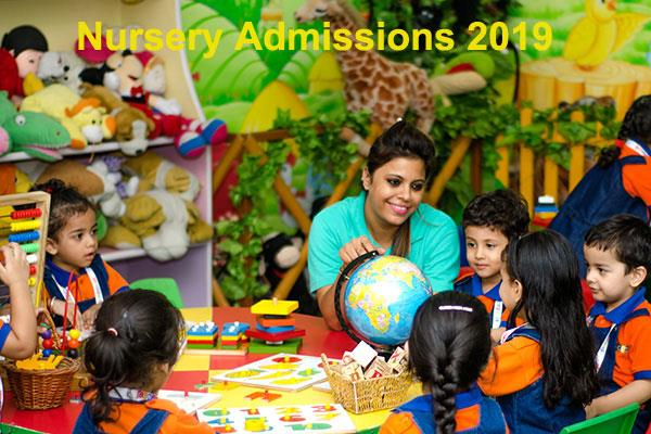 nursery admission 2019 reporting in schools now till july 15