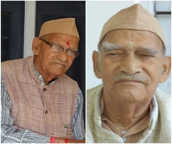 pandit sushil rattan ji dies of freedom fighter of the jawalamukhi