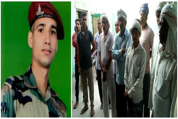 agra a day before the birthday of the martyr in the naxalite attack