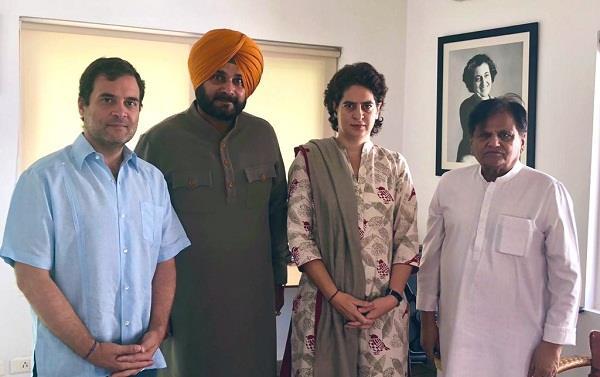 sidhu meet rahul in delhi