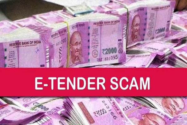 e tender scandal eow raid on suspects of manish khare