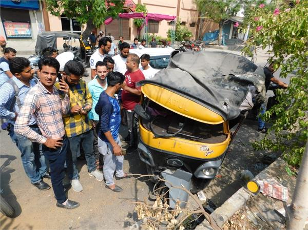 5 injure in accident