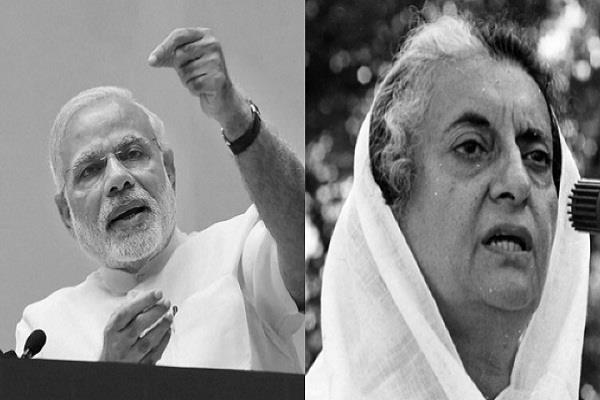 lok sabha elections bjp narendra modi indira gandhi congress