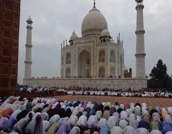 eid celebrated in agra