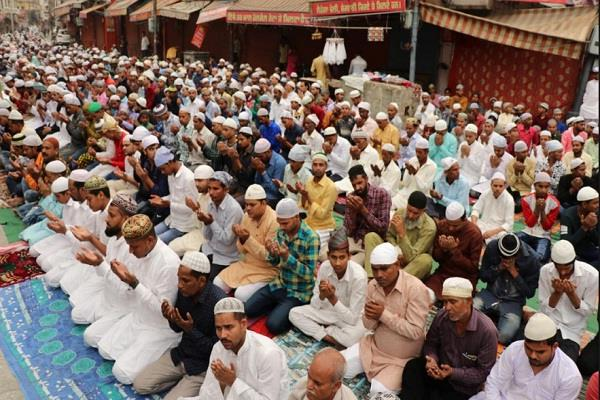prayer for the development of the country sought for eid in balrampur