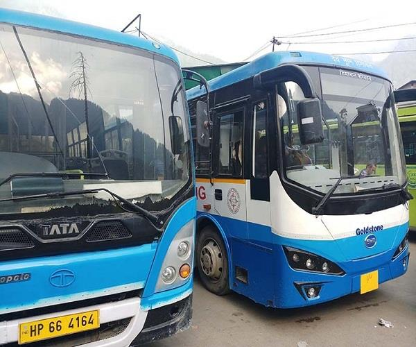 electric bus service from manali to rohtang