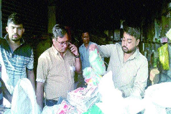 80 kg polythene seized in 10 places