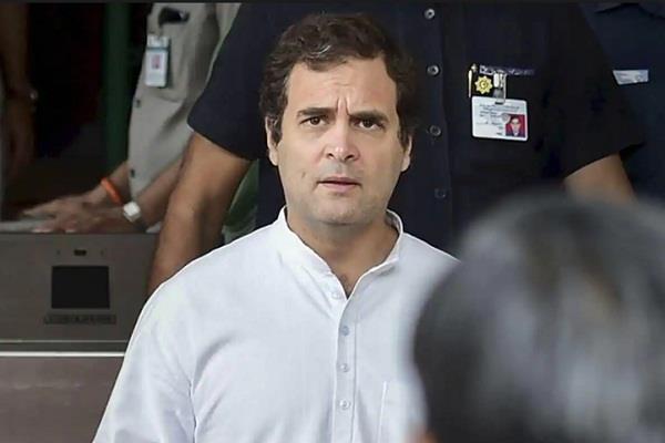 congress reports rahul s displeasure being false