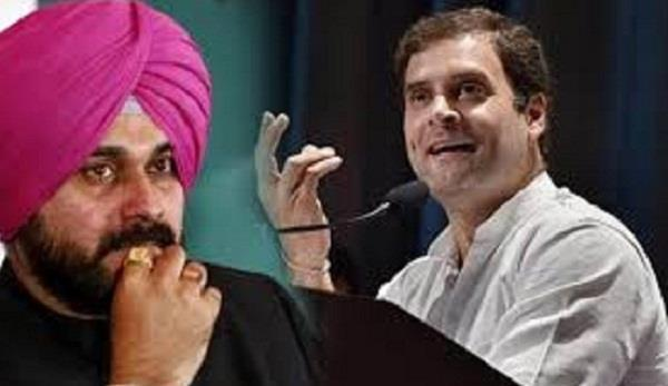 sidhu angry with captain arrives in delhi to meet rahul gandhi