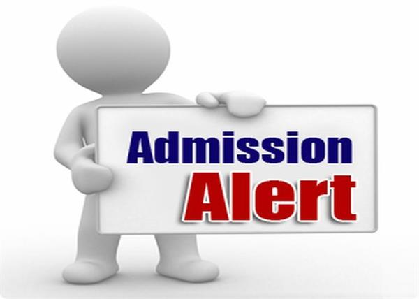 today the last day of online application for admission to colleges