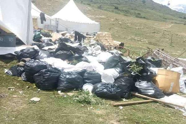 235 quintals of garbage collected after the royal wedding of 200 million