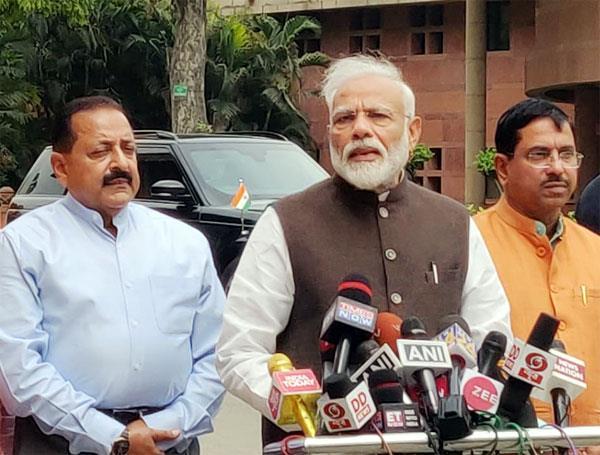 parliament narendra modi media