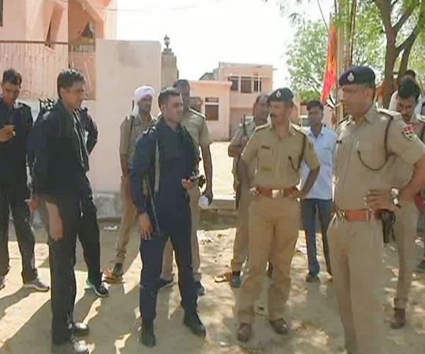 police joint action to catch the raiders of rajasthan