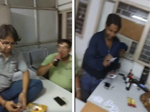 beer party fizzled out in delhi government office