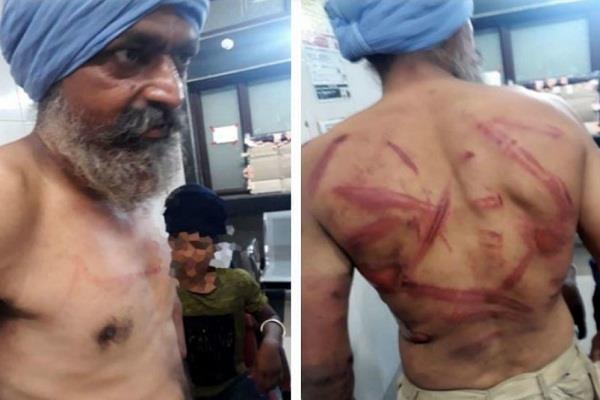 sarabjit saber viral video police