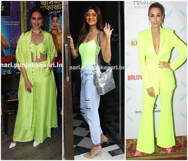 Trending: बॉलीवुड हुआ Neon Green का दीवाना, क्या आपने किया ट्राई?