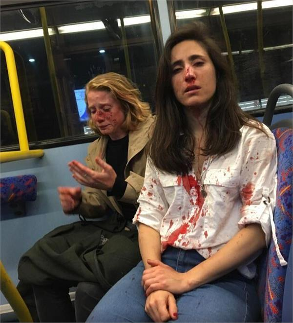 gay couple beaten on london bus after refusing to kiss