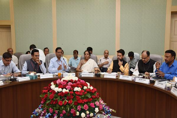 budget preparation meetings with social sector and economists