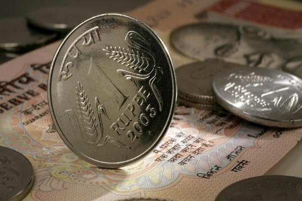 rupees 4 paise against dollar in early trading