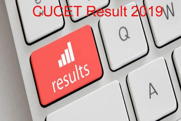 cucet result 2019 the result of the entry examination issued the soonest check