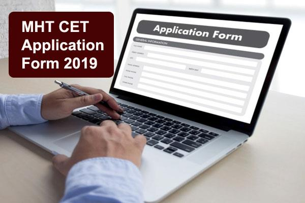 mht cet 2019 the registration process for the courses starting today