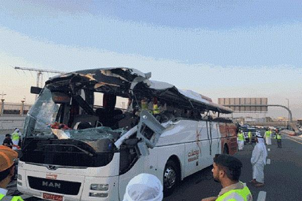dubai bus accident forensic vasudev vishadas