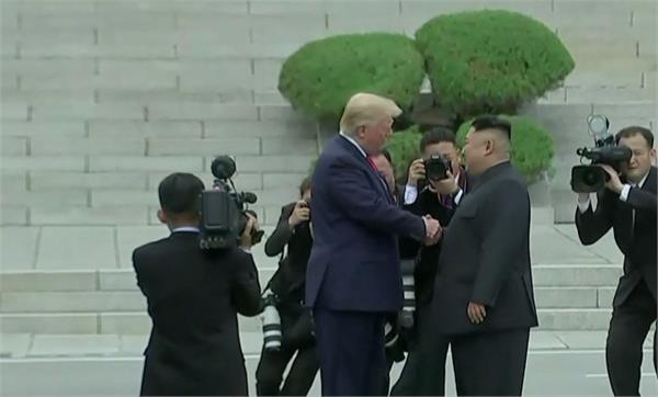trump to meet kim jong un at demilitarized zone