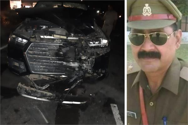 two policemen killed in car collision in bareilly
