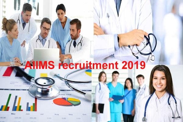 aiims recruitment 2019 on 96 posts of junior administrative assistant